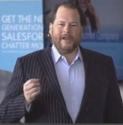 Salesforce CEO, Marc Benioff